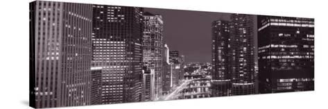 Wacker Drive, River, Chicago, Illinois, USA--Stretched Canvas Print
