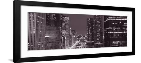 Wacker Drive, River, Chicago, Illinois, USA--Framed Art Print