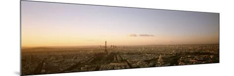 Aerial View, Paris, France--Mounted Photographic Print