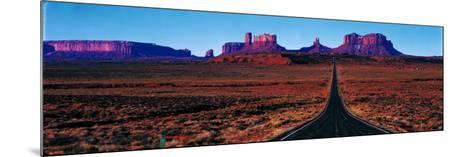 Route 163, Monument Valley, Tribal Park, Utah, USA--Mounted Photographic Print