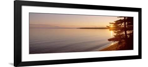 Stockton Island, Lake Superior, Wisconsin, USA--Framed Art Print