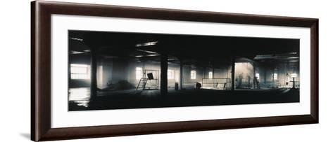 Factory Interior--Framed Art Print