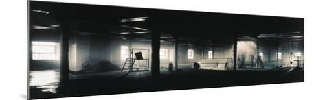 Factory Interior--Mounted Photographic Print