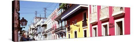 Calle De San Jose, San Juan, Puerto Rico--Stretched Canvas Print