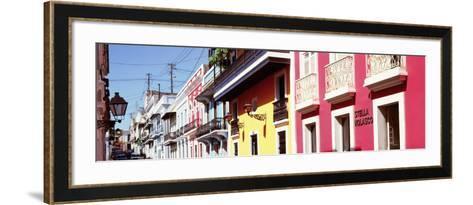 Calle De San Jose, San Juan, Puerto Rico--Framed Art Print