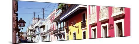 Calle De San Jose, San Juan, Puerto Rico--Mounted Photographic Print