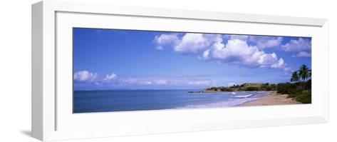 Gringo Beach, Island of Vieques, Puerto Rico--Framed Art Print