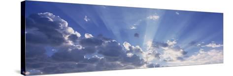 Sun Beams, Arizona, USA--Stretched Canvas Print