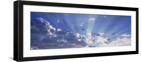 Sun Beams, Arizona, USA--Framed Art Print