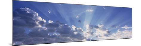 Sun Beams, Arizona, USA--Mounted Photographic Print