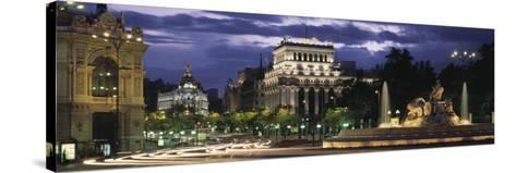 Madrid, Spain--Stretched Canvas Print