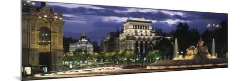 Madrid, Spain--Mounted Photographic Print