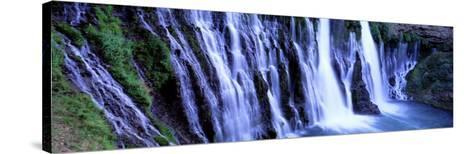 Burney Falls, Mcarthur Burney Falls Memorial State Park, California, USA--Stretched Canvas Print