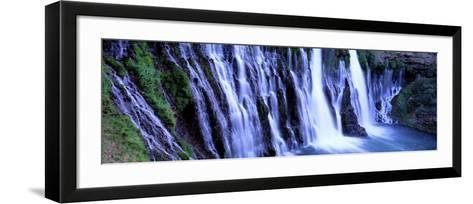 Burney Falls, Mcarthur Burney Falls Memorial State Park, California, USA--Framed Art Print
