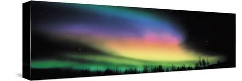 Northern Lights--Stretched Canvas Print
