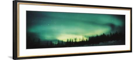 Aurora, Alaska, USA--Framed Art Print