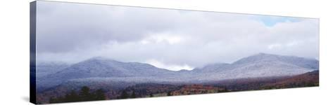 Sentinel Range, Adirondack State Park, Lake Placid, New York State, USA--Stretched Canvas Print
