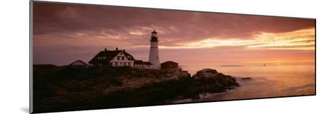Portland Head Lighthouse, Cape Elizabeth, Maine, USA--Mounted Photographic Print