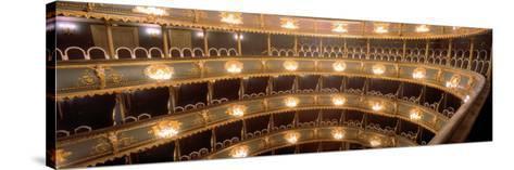 Interior, Stavovske Theater, Prague, Czech Republic--Stretched Canvas Print