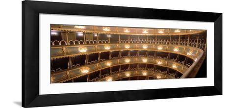 Interior, Stavovske Theater, Prague, Czech Republic--Framed Art Print