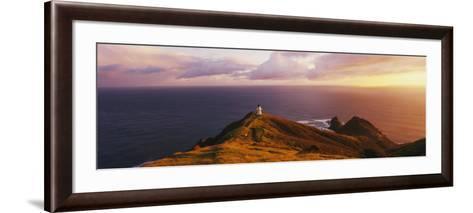 Lighthouse on Cape Reinga, Northland, New Zealand--Framed Art Print