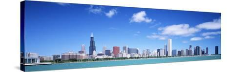 Skyline, Chicago, Illinois, USA--Stretched Canvas Print