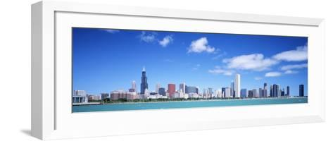 Skyline, Chicago, Illinois, USA--Framed Art Print