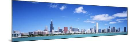 Skyline, Chicago, Illinois, USA--Mounted Photographic Print