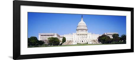 US Capitol, Washington DC, District of Columbia, USA--Framed Art Print