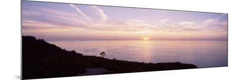 Mediterranean Sea, Sunset--Mounted Photographic Print