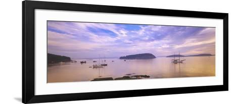 Frenchman Bay, Bar Harbor, Maine, USA--Framed Art Print