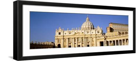 St. Peters Basilica, Vatican City, Rome Italy--Framed Art Print