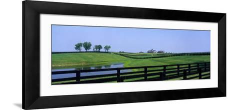 Horse Farm, Kentucky, USA--Framed Art Print