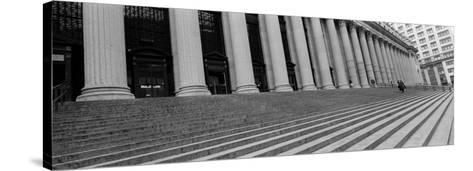 Courthouse Steps, New York City, New York State, USA--Stretched Canvas Print