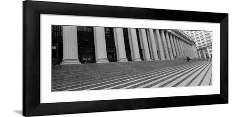 Courthouse Steps, New York City, New York State, USA--Framed Art Print