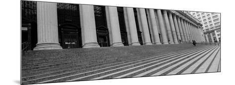 Courthouse Steps, New York City, New York State, USA--Mounted Photographic Print