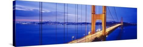 Golden Gate Bridge, San Francisco, California, USA--Stretched Canvas Print