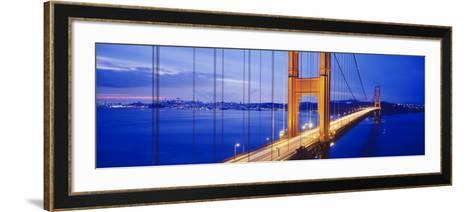 Golden Gate Bridge, San Francisco, California, USA--Framed Art Print