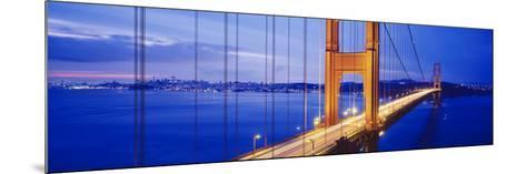 Golden Gate Bridge, San Francisco, California, USA--Mounted Photographic Print