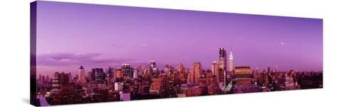 Midtown New York City, New York State, USA--Stretched Canvas Print