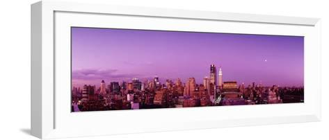 Midtown New York City, New York State, USA--Framed Art Print