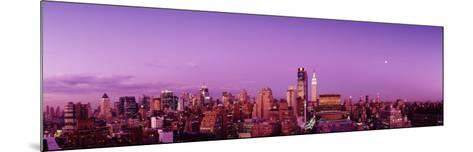 Midtown New York City, New York State, USA--Mounted Photographic Print
