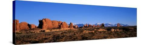 Arches National Park, Moab, Utah, USA--Stretched Canvas Print