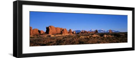 Arches National Park, Moab, Utah, USA--Framed Art Print
