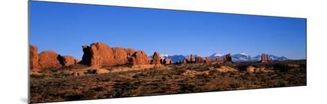Arches National Park, Moab, Utah, USA--Mounted Photographic Print