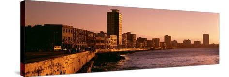 Avenue De Maceo, Havana, Cuba--Stretched Canvas Print