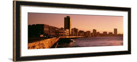 Avenue De Maceo, Havana, Cuba--Framed Art Print