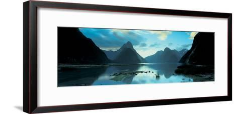 South Island, Milford Sound, New Zealand--Framed Art Print