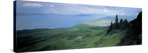 Sound of Raasay, Isle of Skye, Scotland, United Kingdom--Stretched Canvas Print