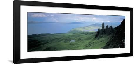 Sound of Raasay, Isle of Skye, Scotland, United Kingdom--Framed Art Print
